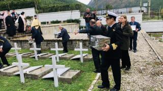 Αλβανία: Έθαψαν τα οστά 193 Ελλήνων που έπεσαν στο έπος του 40'