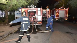 Φωτιά σε κτήριο στην Πατησίων