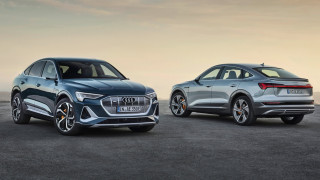 To ηλεκτρικό Audi E-Tron Sportback είναι από τα πιο δυναμικά και ελκυστικά SUV Coupe