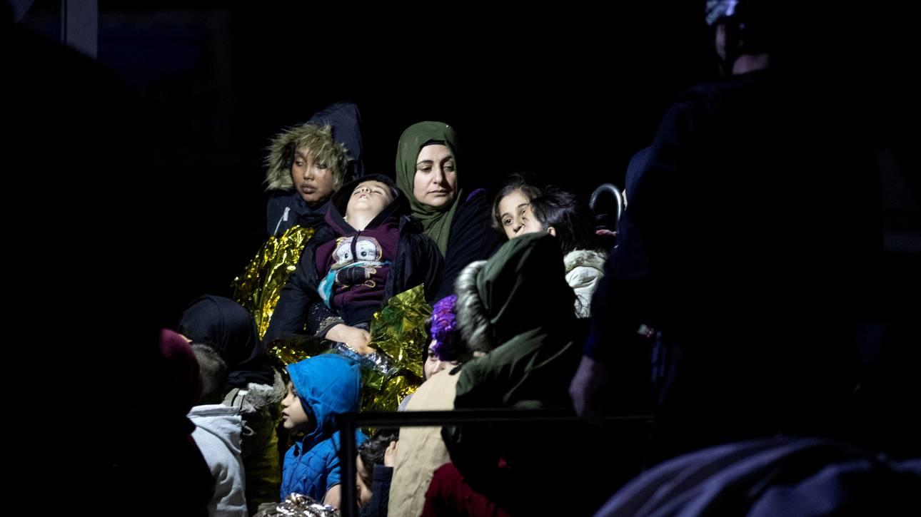 Διάσωση 369 προσφύγων και μεταναστών στο ανατολικό Αιγαίο