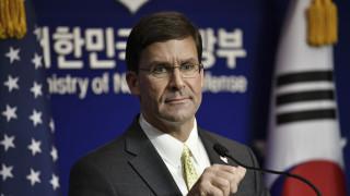 Το Πεντάγωνο διαψεύδει ότι εξετάζει το ενδεχόμενο να αποσύρει δυνάμεις από την Νότια Κορέα
