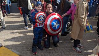 Τοπικός σύμβουλος της Νέας Υόρκης ντύθηκε Captain America και η Marvel… εξοργίστηκε
