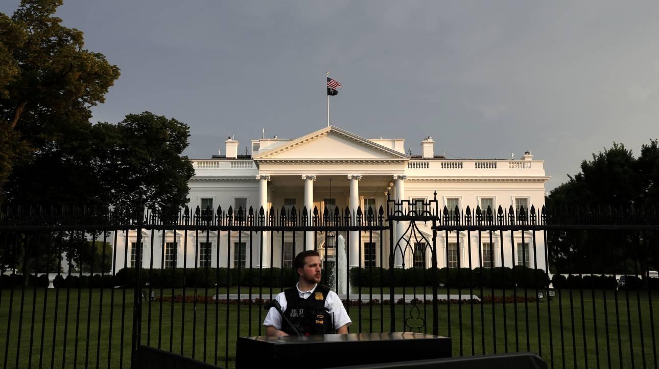 Μυστική Υπηρεσία: Όχημα προσπάθησε να μπει στον Λευκό Οίκο