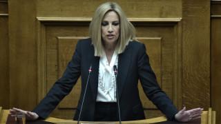 Γεννηματά σε Μητσοτάκη: «Η Ελλάδα δεν αντέχει άλλες Μόριες - Αλλάξτε ρότα»
