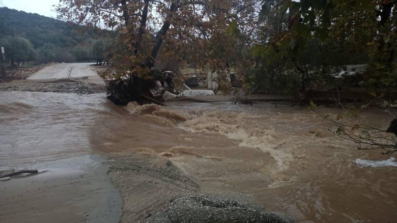 Κακοκαιρία: «Βούλιαξαν» Θάσος και Χαλκιδική - Εικόνες καταστροφής