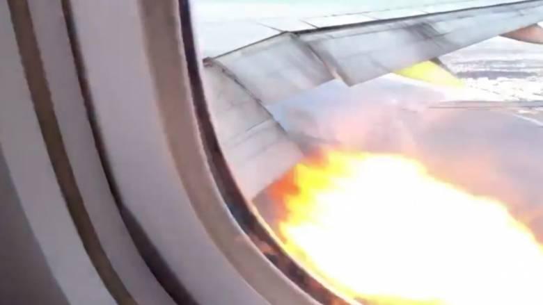 Λαχτάρα στον αέρα: Αναγκαστική προσγείωση αεροσκάφους λόγω φωτιάς στον κινητήρα