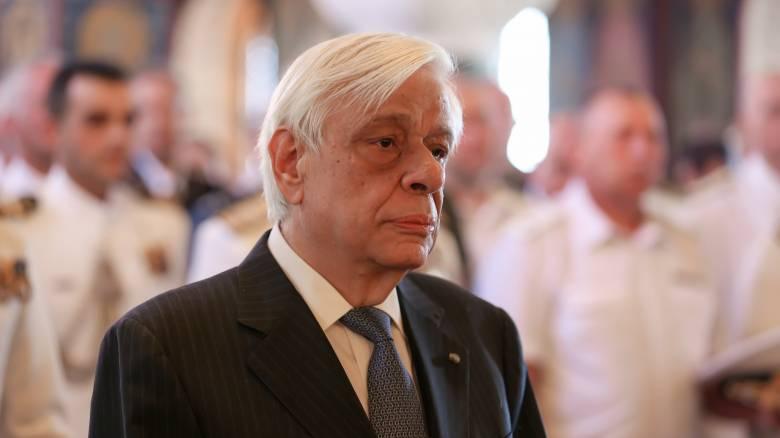 Επίσκεψη Προκόπη Παυλόπουλου στον Μανώλη Γλέζο