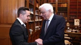 Συγχαρητήρια Προκόπη Παυλόπουλου στον Λευτέρη Πετρούνια για το ασημένιο