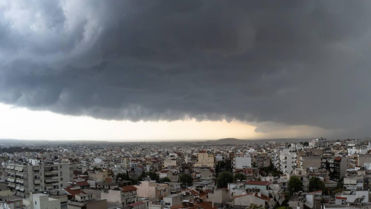 Καιρός - Γηρυόνης: Καταιγίδες και θυελλώδεις άνεμοι σήμερα - Ποιες περιοχές θα πληγούν