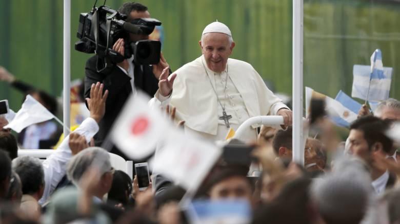 «Ένα τεράστιο κρεματόριο»: Επιζώντες της Χιροσίμα περιγράφουν μνήμες φρίκης στον Πάπα Φραγκίσκο