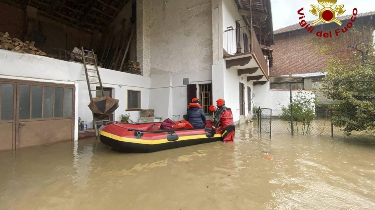 Ιταλία: Σφοδρές βροχοπτώσεις στον βορρά – Κάτω από το νερό ξανά η Βενετία