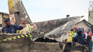 Κονγκό: Δεκάδες νεκροί μετά από συντριβή αεροσκάφους