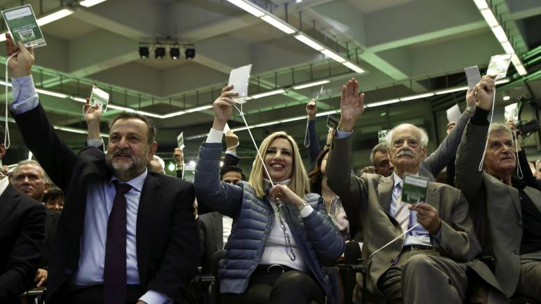 Νίκη της Γεννηματά στο Συνέδριο του ΠΑΣΟΚ - Παραμένει πρόεδρος μέχρι το 2021