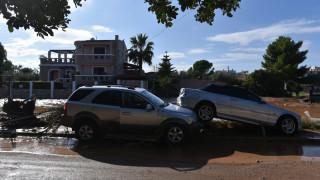 Κακοκαιρία «Γηρυόνης»: Αγωνία για άνδρα που κινείτο με το όχημά του στην Κινέτα