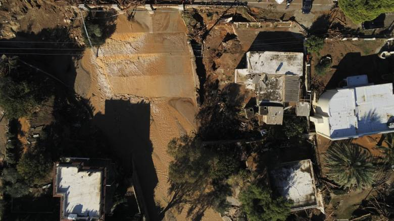 Κακοκαιρία «Γηρυόνης»: Κλιμάκια μηχανικών στην πληγείσα περιοχή της Κινέτας
