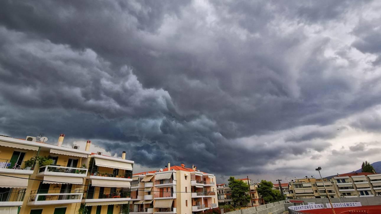 Καιρός: Βροχές και καταιγίδες και αύριο - 'Εντονα φαινόμενα και στην Αττική