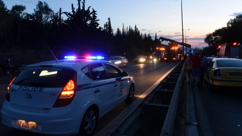 Αποκαταστάθηκε η κυκλοφορία στην Εθνική Οδό Αθηνών - Κορίνθου στην Κινέτα