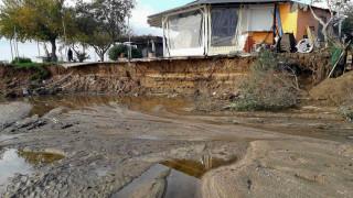 Κακοκαιρία «Γηρυόνης»: Πλημμύρισε ξανά η Θάσος - 464 χιλιοστά βροχής σε έξι μέρες