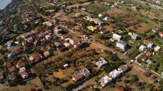 Κινέτα: Δορυφορική εικόνα της καταστροφικής πλημμύρας