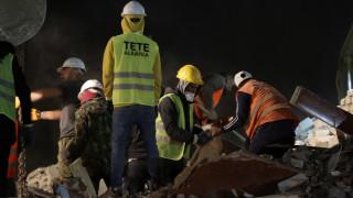 Σεισμός στην Αλβανία: 30χρονη ανασύρθηκε ζωντανή μετά από 14 ώρες – Νεκρό το παιδί της