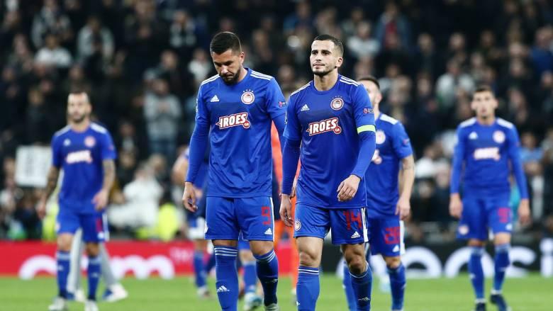 Τότεναμ - Ολυμπιακός 4-2: Μία νίκη για το Europa League θέλουν πλέον οι «ερυθρόλευκοι»