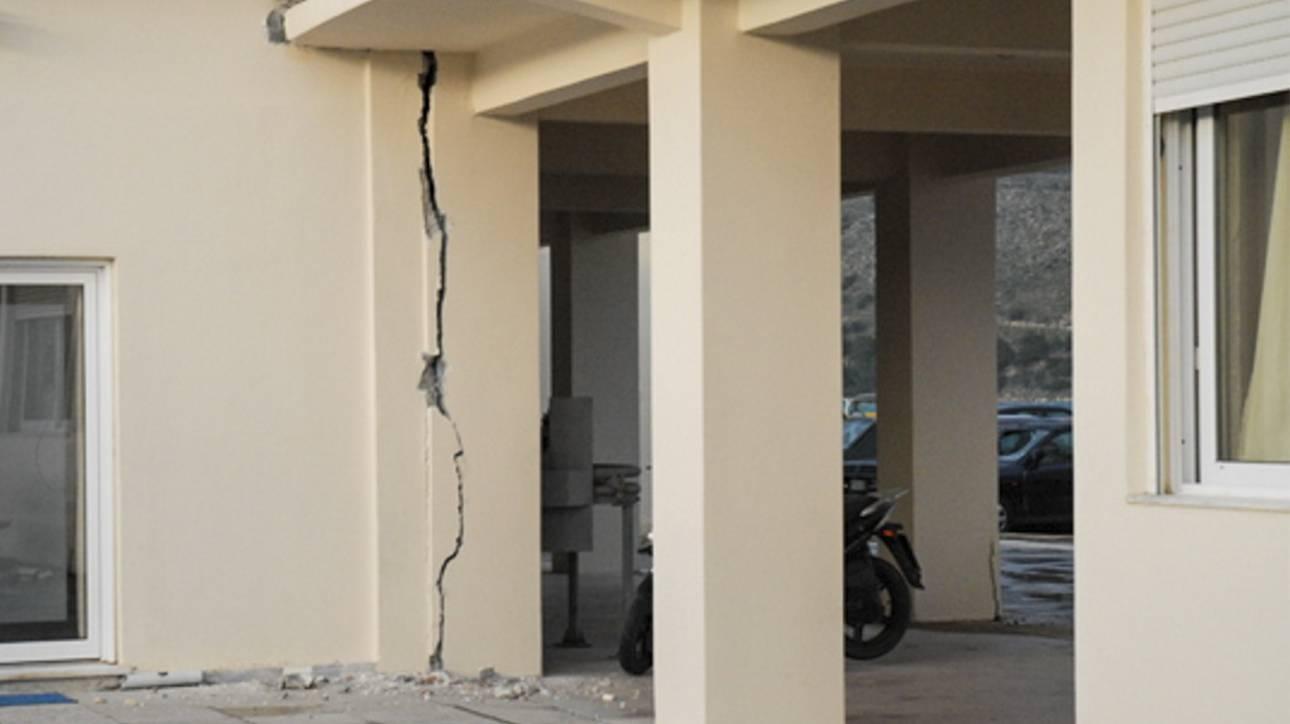 Μικρές ζημιές στην Κρήτη από την ισχυρή σεισμική δόνηση - Έκλεισαν προληπτικά τα σχολεία