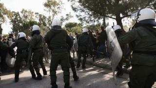 Ένταση στη συγκέντρωση φοιτητών στο Καβούρι
