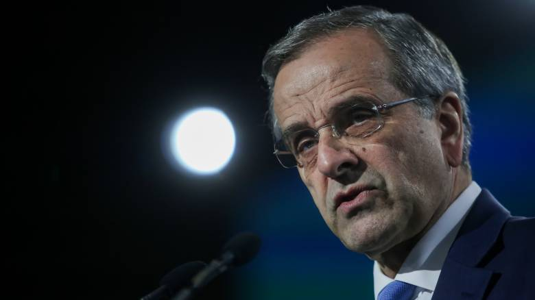 Σαμαράς: Να αποδεσμευτούμε από τη Συμφωνία των Πρεσπών – Δυσαρέσκεια για το «λαθρομεταναστευτικό»