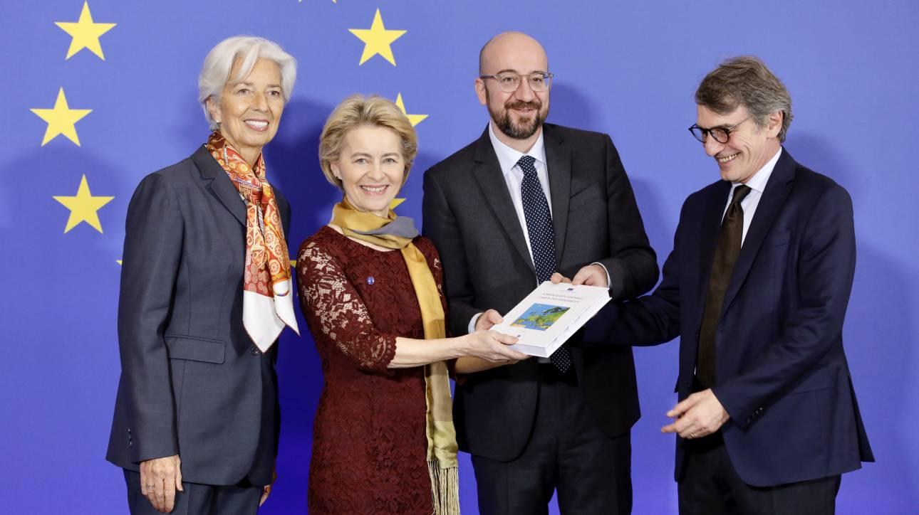 Αλλαγή σκυτάλης στην ΕΕ: Ανέλαβαν τα καθήκοντά τους Ούρσουλα φον ντερ Λάιεν και Σαρλ Μισέλ