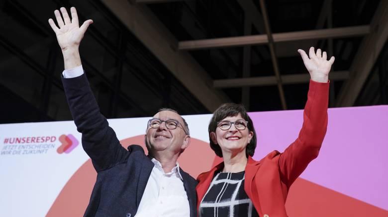 Γερμανία: Αντιδράσεις προκαλεί η νέα ηγεσία των Σοσιαλδημοκρατών