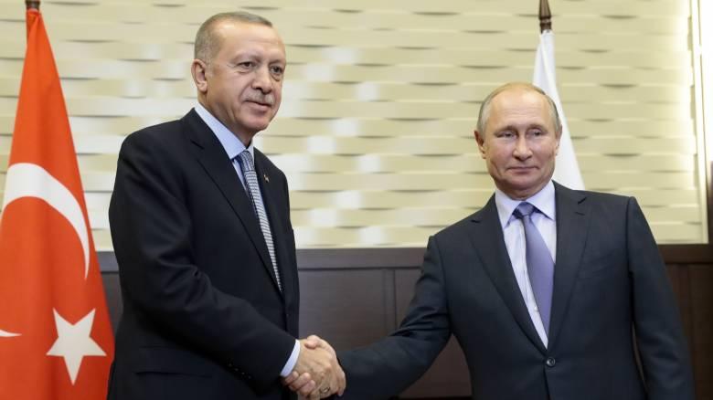 Επίσκεψη Πούτιν στην Τουρκία στις 8 Ιανουαρίου ανακοίνωσε το Κρεμλίνο