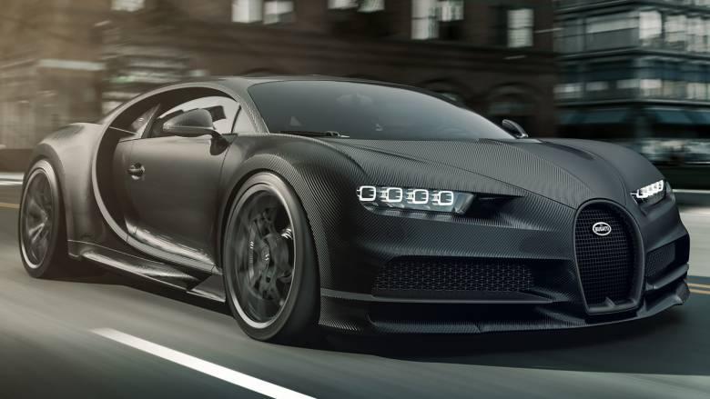 H Bugatti παρουσιάζει και άλλη ειδική έκδοση της Chiron, τη Noire, που φυσικά είναι ακόμα πιο ακριβή