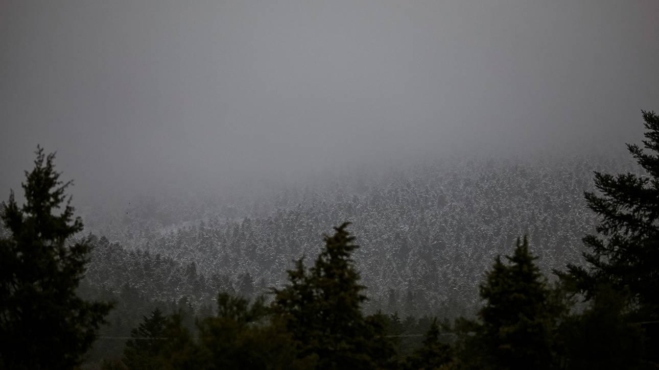 Καιρός: Πού θα χιονίσει την Τρίτη