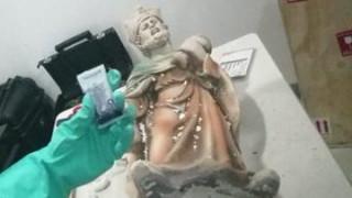 Μεξικό: Οι Αρχές κατέσχεσαν θρησκευτικά αγάλματα φτιαγμένα από… μεθαμφεταμίνη