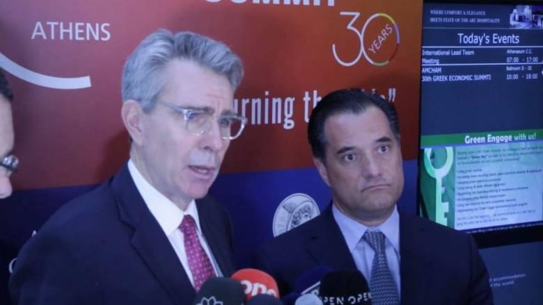 Πάιατ: Οι ΗΠΑ θα κάνουν ό,τι είναι δυνατό για να πάει η Ελλάδα μπροστά σε οικονομία και επενδύσεις
