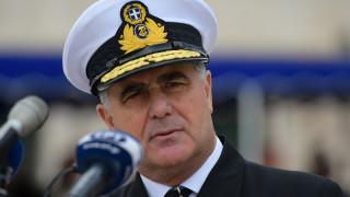 Αρχηγός ΓΕΝ: Δεν θα δεχθούμε παραβίαση της υφαλοκρηπίδας μας