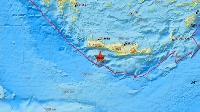Τριπλή σεισμική δόνηση στη Γαύδο