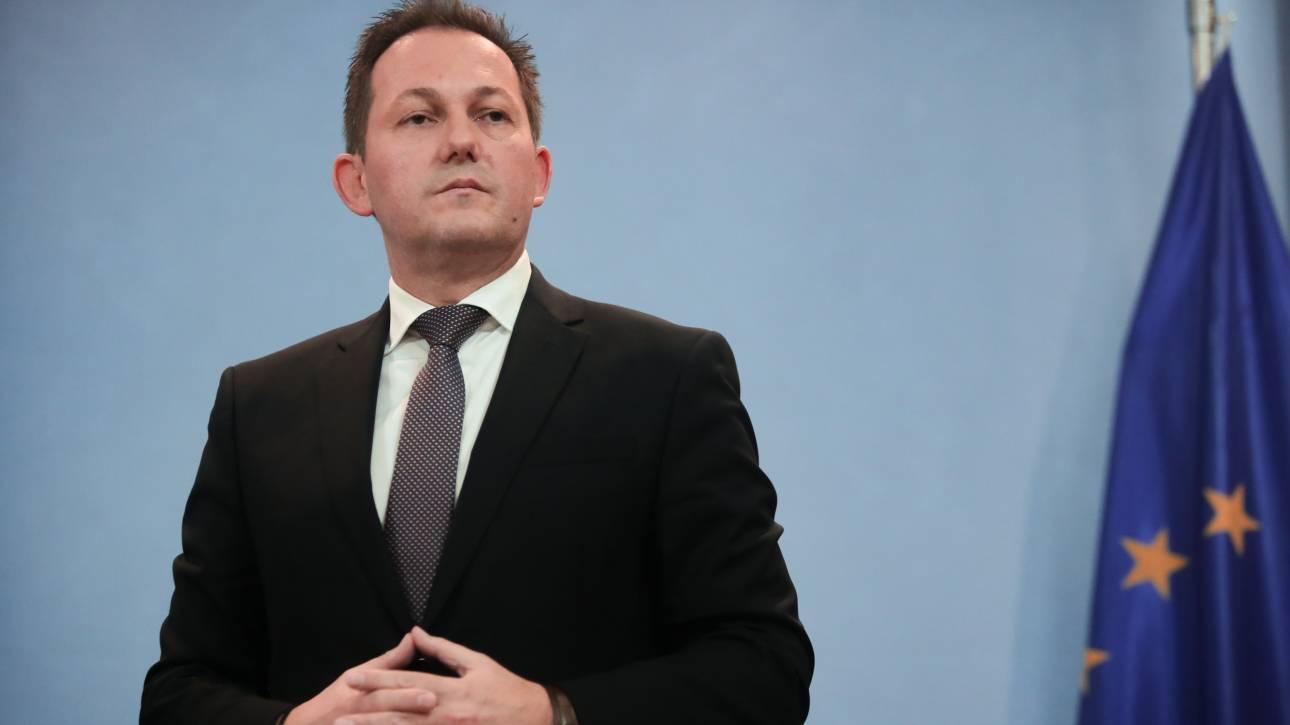 Πέτσας: Προσπαθήσαμε να αναδείξουμε ότι είναι άκυρη η συμφωνία Τουρκίας - Λιβύης