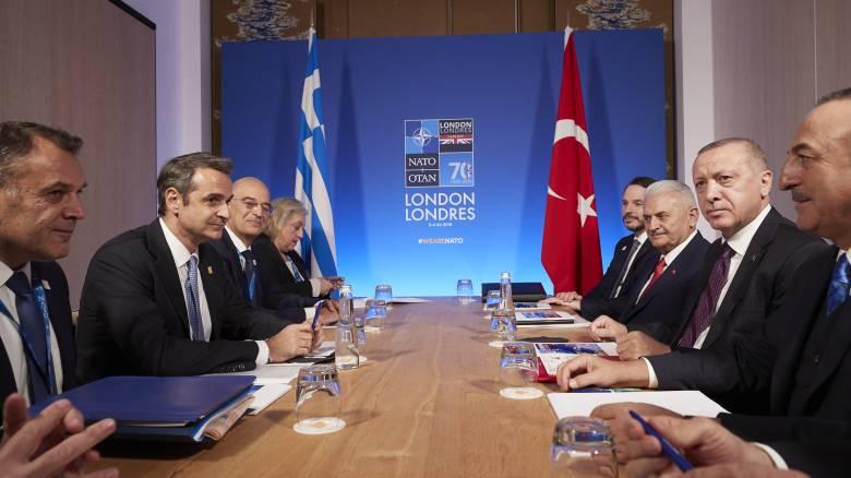 Σε πρώτο πλάνο η τουρκική προκλητικότητα: Κρίσιμη συνάντηση Μητσοτάκη - Ερντογάν