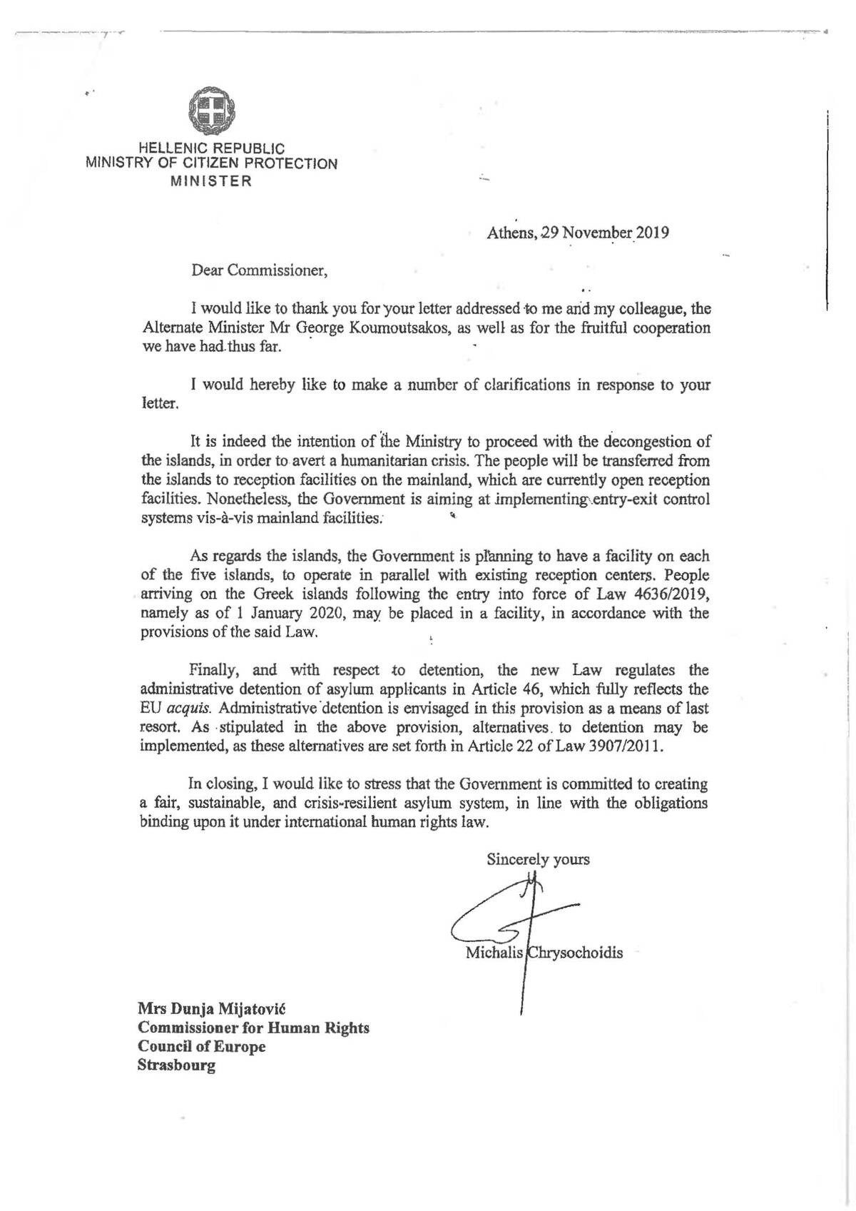 CommDH GovRep201911 Reply of Greek Minister of Citizens Protection EN.pdf 1