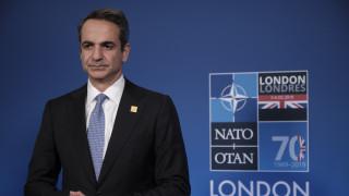 Σύνοδος Κορυφής ΝΑΤΟ: Τι συζήτησαν Μητσοτάκης - Τριντό στο Λονδίνο