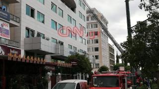 Φωτιά σε ξενοδοχείο στη λεωφόρο Συγγρού - Απεγκλωβίστηκαν άνθρωποι