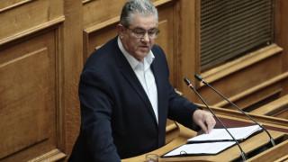 Ενημέρωση αρχηγών για τα ελληνοτουρκικά ζητά ο Κουτσούμπας