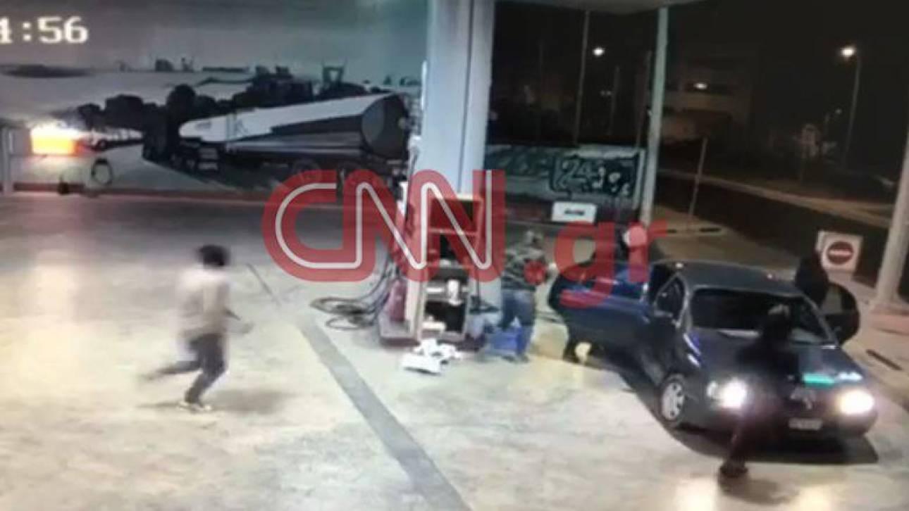 Βίντεο - ντοκουμέντο από τη δράση της σπείρας που είχε ρημάξει βενζινάδικα
