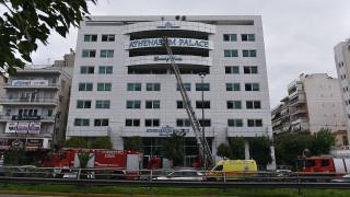 Φωτιά σε ξενοδοχείο στη λεωφόρο Συγγρού: Τρεις εστίες φωτιάς σε δύο διαφορετικούς ορόφους