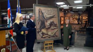 «Ο λιμός στην Αθήνα»: Ένας σπάνιος πίνακας στα εκθέματα του Πολεμικού Μουσείου