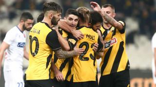 ΑΕΚ - Πανιώνιος 5-0: Εύκολη νίκη υπό το βλέμμα Καρέρα