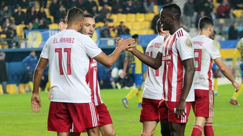 Παναιτωλικός - Ολυμπιακός 0-3: Ξέσπασε στο Αγρίνιο