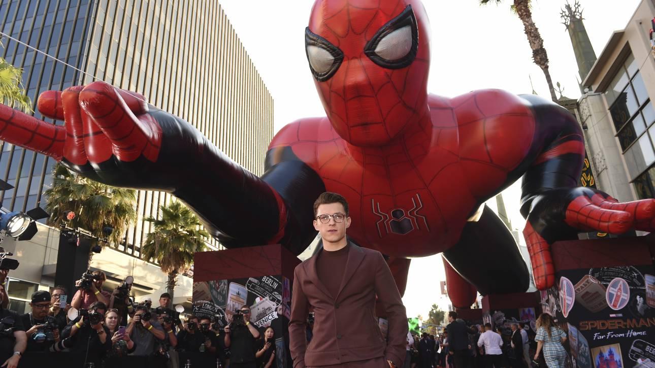 Πώς ο «μεθυσμένος» Τομ Χόλαντ έσωσε τον Spiderman