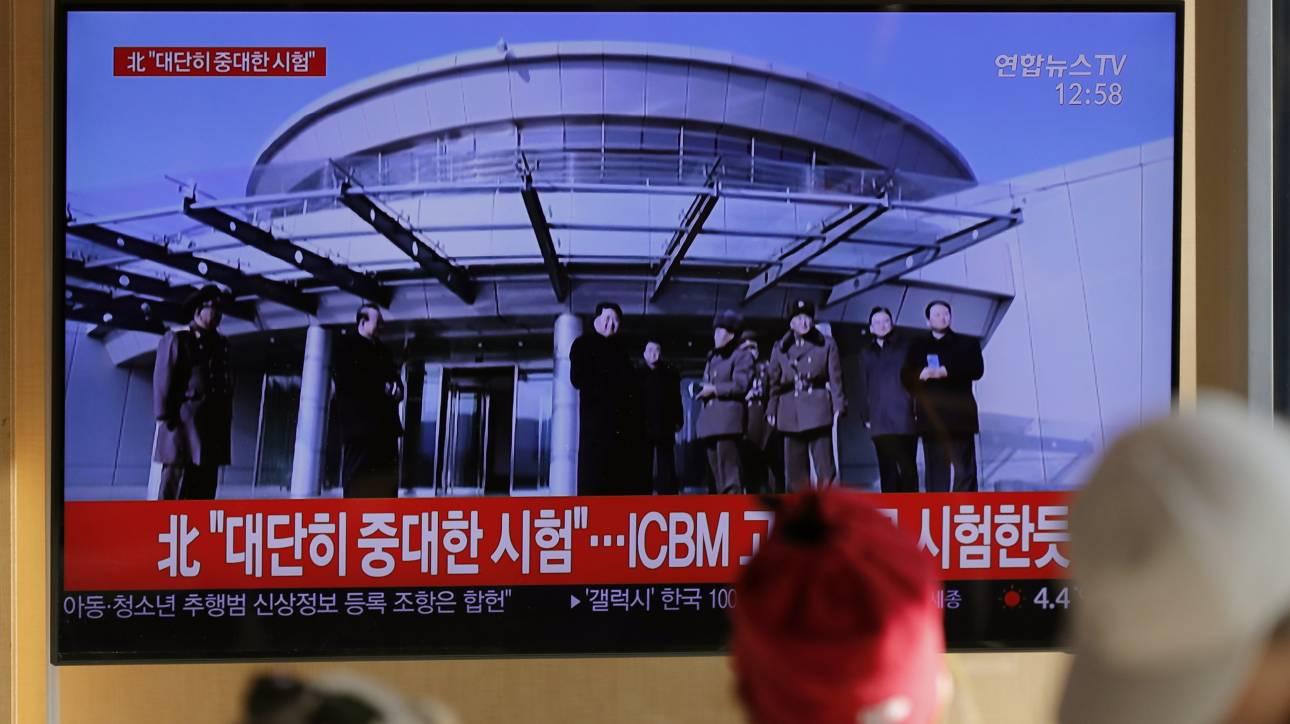 Βόρεια Κορέα: «Πολύ σημαντική δοκιμή» διεξήχθη στη βάση Σόχε